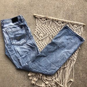 Buffalo David Bitton Buckle Straight Jeans Size 33